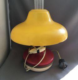 Лампа настольная керасинка электрическая