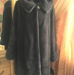 New mink coat import fur