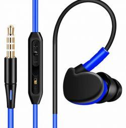 Ακουστικά Fonge S500 Super Bass με μικρόφωνο