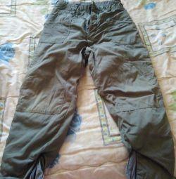 Pantaloni de bumbac 50p