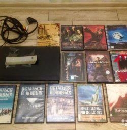 Samsung DVD-P171 + 12 DVD top discs