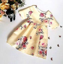 Атласные платья с подкладом из хлопка