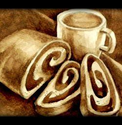Εικόνα καφέ (γραπτές καφές)
