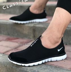 Mesh slippers