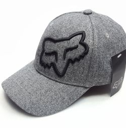 Fox baseball cap (gray) flexible