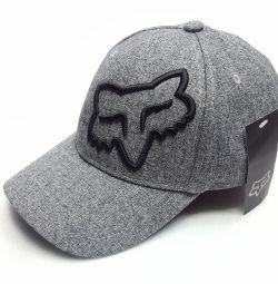 Кепка бейсболка Fox (сірий) flexible