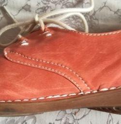 Туфли-слипоны новые, р-38