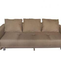 Диван-кровать Некст с подлокотниками NeoLatte