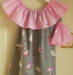 Yazlık elbise ve fular