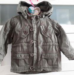 Курточка H&M парка 86-92см