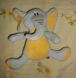 Toy rattle elephant