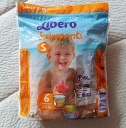 Παντελόνια Libero για κολύμβηση 7-12kg.