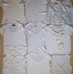 Zara, Mango white t-shirts