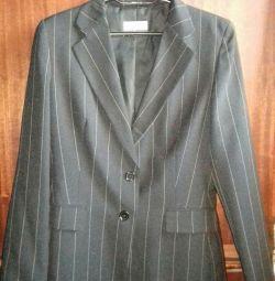 S.46-48 geniş şeritte ceket