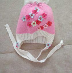 hat for girls p.48-50 demi-season