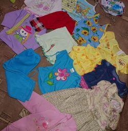 Πακέτο για κορίτσι 1-2 ετών