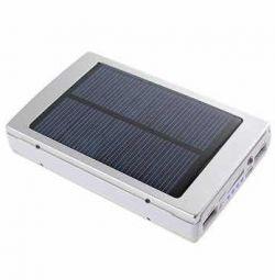 External battery on solar panel 25000 mAh