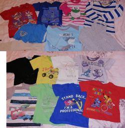 Un pachet de haine pentru un băiat de la un an la 2 ani