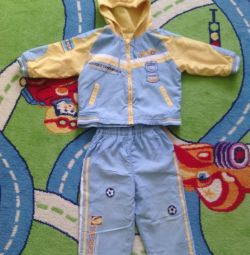 Suit on fleece p92-98