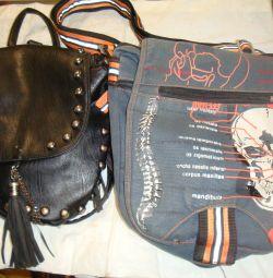 Δερμάτινη τσάντα σακίδιο / τσάντα για άνδρες 29χ30