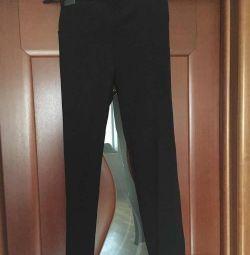 Παντελόνια κολάν νέα Ιταλία Kasha μέγεθος 46 M μαύρο