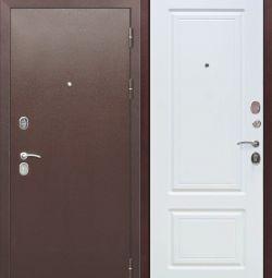 Входная металлическая дверь 10 см ТОЛСТЯК РФ Медны