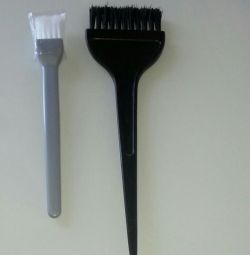 New brushes for masks and hair coloring