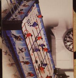Table hockey!