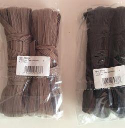 Швейные резинки 7 мм, 4 рулона