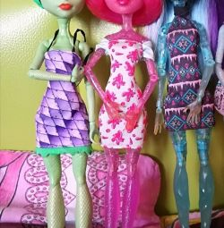 Doll Monster High. Collect the monster. Original. The Dragon