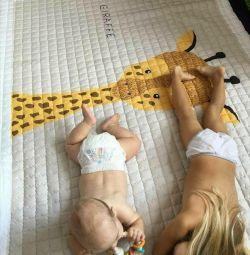 çocuk oyun matı