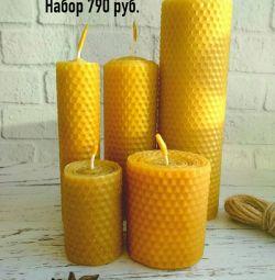 Honey Candle Set