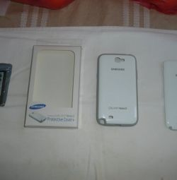 SAMSUNG GALAXY NOTE 2 original samsung pouches (2 pieces). One