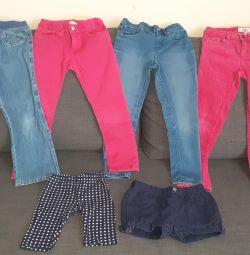 Παντελόνια / τζιν / σορτς 110-116 τσάντα