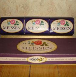 Soap in gift packaging, GDR, 1987.