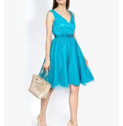 Dress, zarina blue 42-44