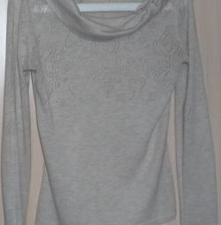 Pullover wool / cotton, France, p-44