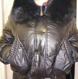 Ζεστό σακάκι με γούνα