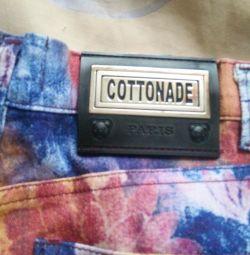 Французкие джинсы cottonade р44-46