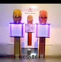 Беспроводной караоке микрофон YS-86