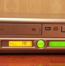 Відеомагнітофон / DVD- програвач