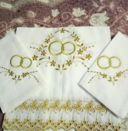 The wedding set.