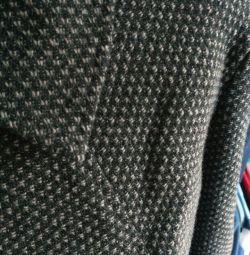Chanel tarzında sıcak kıyafet veya etek ve ceket