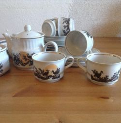 Tea set for 6 persons