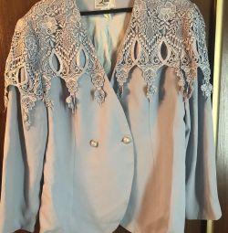 Jacket soft blue 50 size