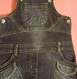 Jeans sarafan Cicisi r. 110