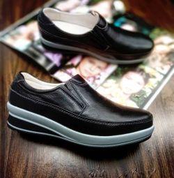Pantofi 37 40 dimensiuni piele nouă