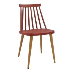 HANGING CHAIR HM8052.07 VANESSA RED WITH O