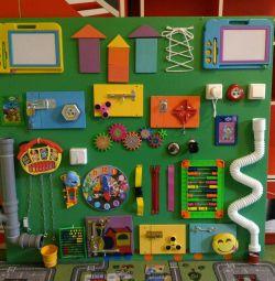 Bizibord maxi for child care facilities