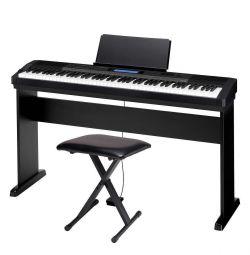 Casio CDP-235RBK pentru pian digital (Kit complet